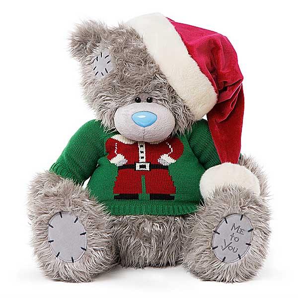 Новогодние мишки Тедди